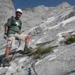 Sulla ferrata del Monte Contrario 2015