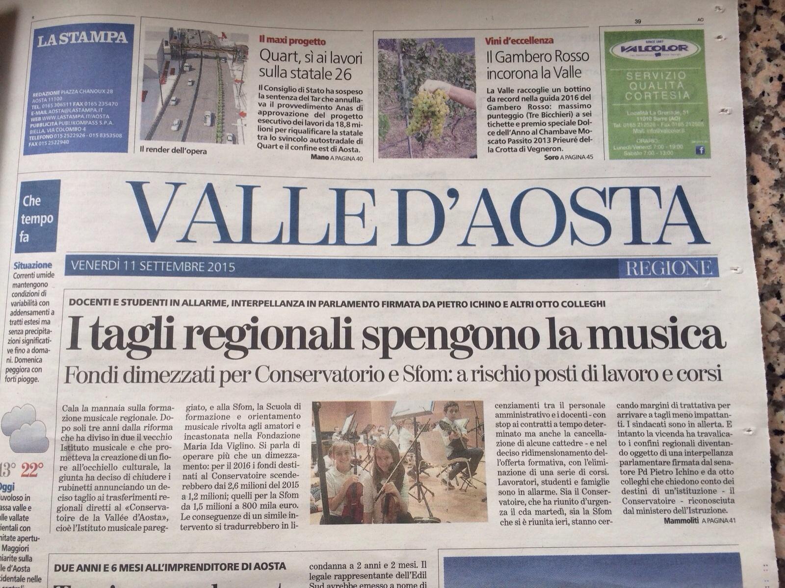 La Stampa.11IX15