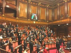L'ultimo voto in Senato sulla riforma costituzionale, 21 gennaio 2016