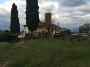 La pieve di S. Andrea, a Barbiana