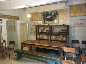Ancora la stanza della canonica dove don Lorenzo faceva scuola