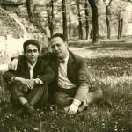 Gino Giugni e Giuseppe Pera, alla metà degli anni '50