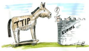 Il TTIP presentato come Cavallo di Troia per espugnare la Cittadella UE