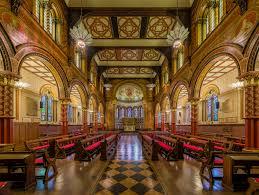 L'aula magna del London Kings College