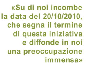 """lettera aperta dei laureati calabresi durante il periodo di godimento del """"superstage"""" 2008-2010"""