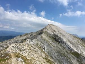 Il monte Tambura dal Passo della Focolaccia