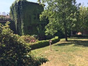 Un'altra veduta dell'antico palazzo milanese in cui ha sede il Centro dell'Incisione