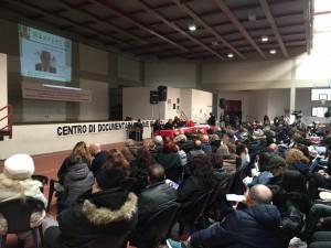 Il convegno nella palestra del Carcere di Padova