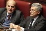 Pierluigi Bersani e Massimo D'Alema