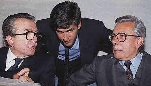 Forlani con Andreotti