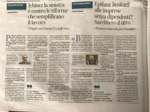 Corriere della Sera, 14 marzo 2017, pag. 2