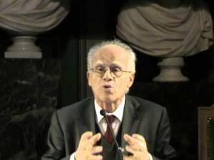 Il professor Antonio Padoa Schioppa