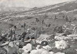Il campo di battaglia della Bainsizza