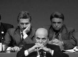 Massimo D'Alema, Pierluigi Bersani e Achille Occhetto