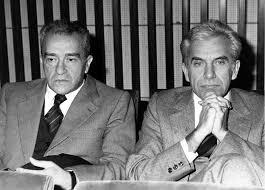 Pietro Ingrao e Lucio Magri