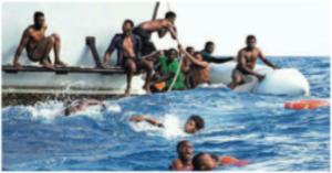 Naufragio barcone immigrati
