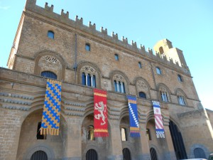 Il palazzo del Capitano del Popolo di Orvieto, dove si svolge ogni anno l'Assemblea nazionale di LibertàEguale