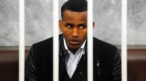 Osman Matammud durante il processo