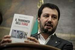 Salvini contro l'euro