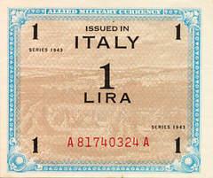 La moneta creata dall'Amministrazione militare alleata in Italia nell'immediato dopoguerra