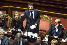 Il discorso con cui Renzi chiese la fiducia al Senato nel febbraio 2014