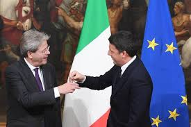 Passaggio delle consegne tra Renzi e Gentiloni